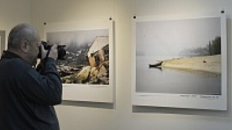 В Воронеже открылась выставка, где картины соседствуют с фотографиями
