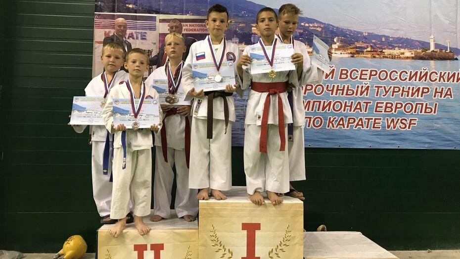 Юные хохольские каратисты стали призерами всероссийского отборочного турнира