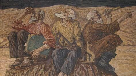 Художник Наталья Ходюк покажет свои «Размышления» в Академии искусств