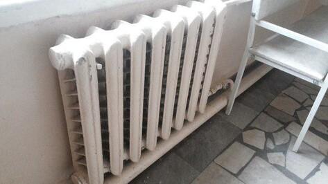 В 12 районах Воронежской области отопление дошло до всех жителей