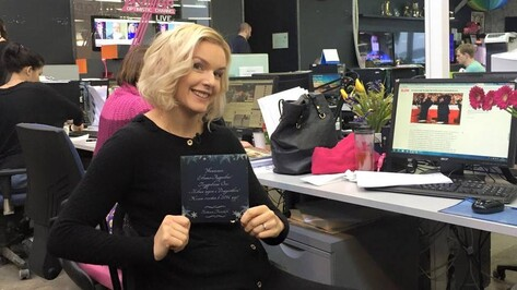 Телеведущая из Воронежа презентует книгу о жизни после перелома позвоночника