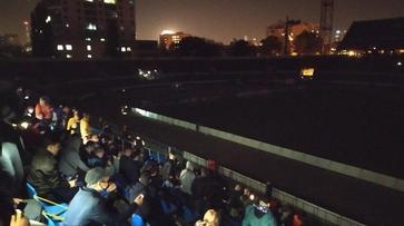 Отключение электричества приостановило матч «Факела» и «Алании» в Воронеже
