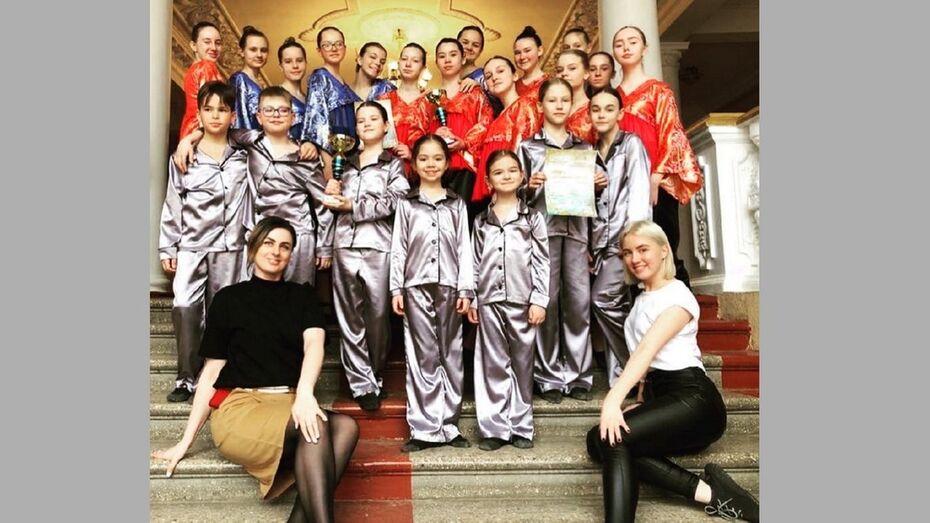 Лискинские танцоры стали дважды лауреатами Международного конкурса «Золотой дождь»