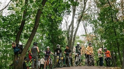 Авторы Большой экотропы обвинили «ВелоВоронеж» в порче курганов