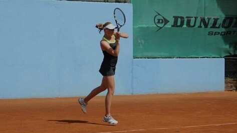 Воронежская теннисистка заняла второе место на командном Первенстве Европы