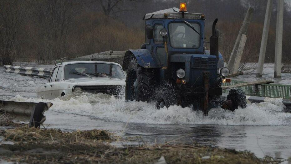 На время паводка в Воронежской области развернут 82 пункта временного размещения населения