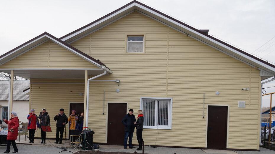 В богучарском селе Луговое построили врачебную амбулаторию за 7,3 млн рублей