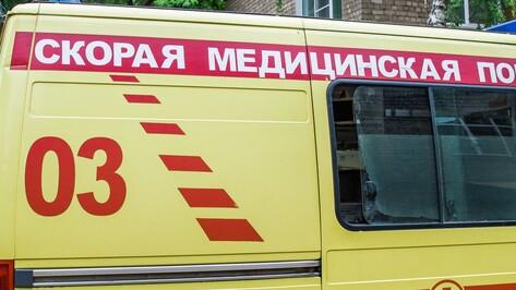В Воронежской области в аварии пострадал младенец
