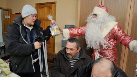 Воронежские бездомные попросили на Новый год командирские часы и духи