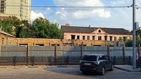 Дом Вагнера в Воронеже восстановят по оригинальным чертежам