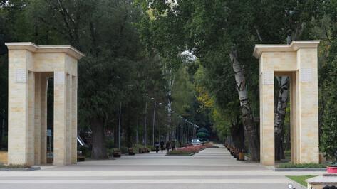В Воронеже закрыли проход по лестнице в Центральный парк