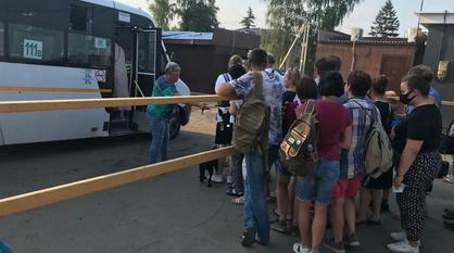 Жители окрестностей Воронежа пожаловались на проблемы с автобусами