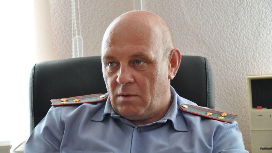 Воронежский облсуд утвердил 7 лет условно экс-начальнику Павловского отдела полиции