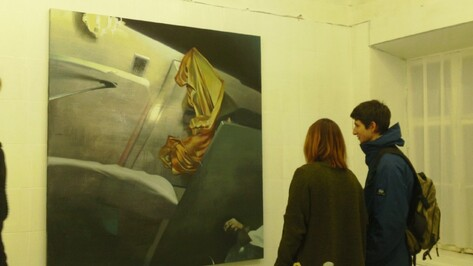 Молодые художники показали в Воронеже «Метель»
