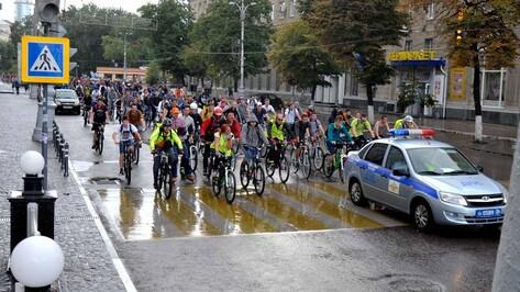 На пробег «ВелоВоронежа-2014» вышли 1,5 тыс велосипедистов