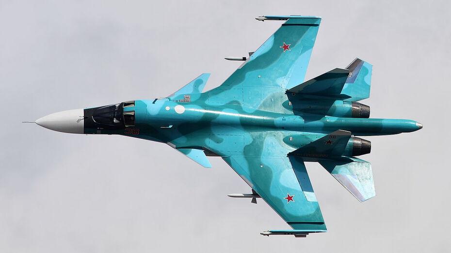 Бомбардировщики Су-34 передислоцируют в Воронеж в октябре