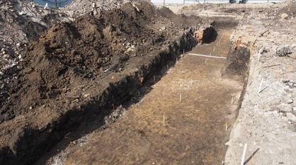 Старинную стеклянную посуду и керамику нашли в Воронеже на участке под строительство