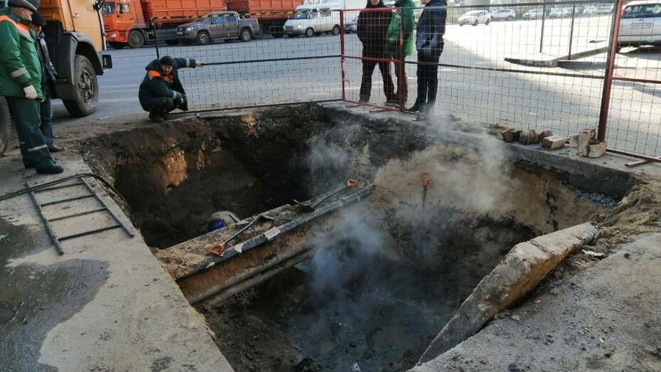 Коммунальная авария в центре Воронежа оставила без отопления 50 домов и 2 детсада