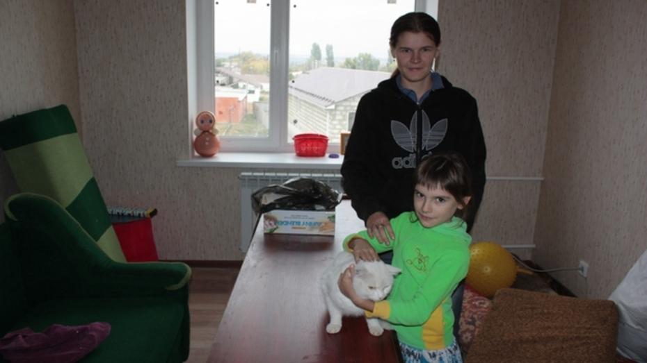 В Ольховатском районе жильцы ветхих домов получили новые квартиры