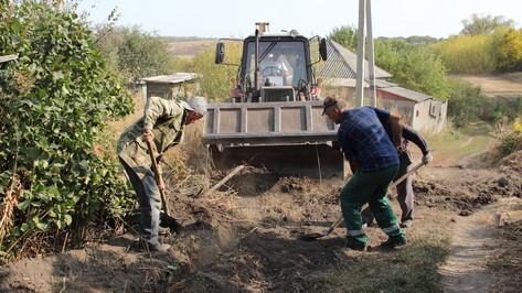 В каменском селе Евдаково на 2 улицах впервые появился водопровод