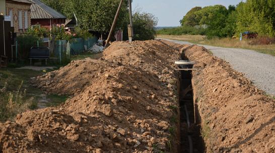В острогожском селе Терновое на замену водопроводных труб потратили около 3 млн рублей