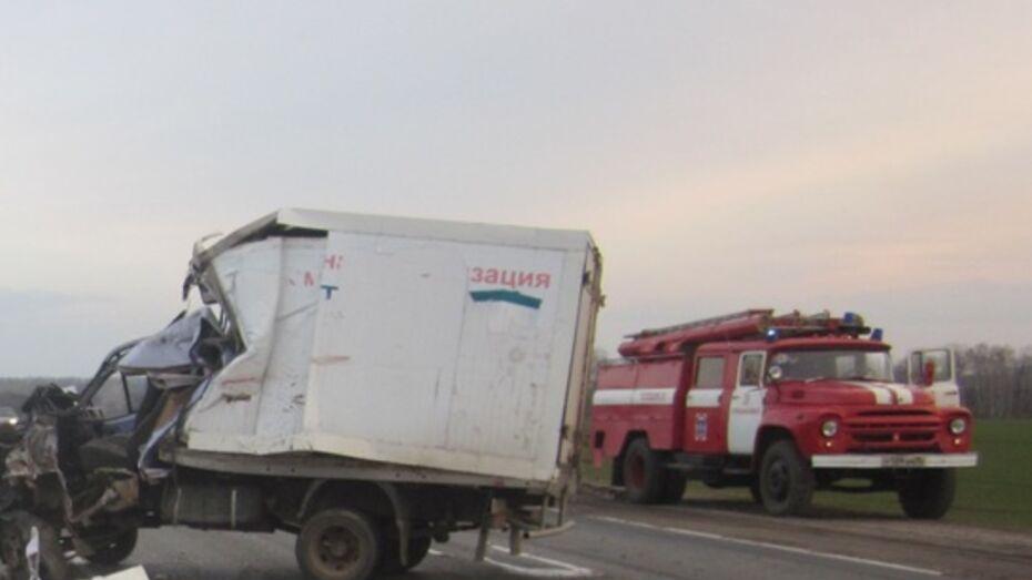В Воронежской области после ДТП с двумя «Газелями» погиб мужчина