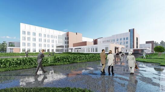 Воронежцам показали проект современной больницы на 299 мест в райцентре