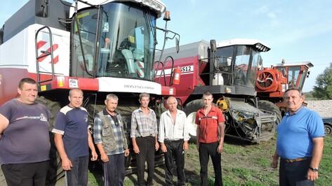 Подгоренские аграрии повторили рекорд 2008 года по уборке зерновых