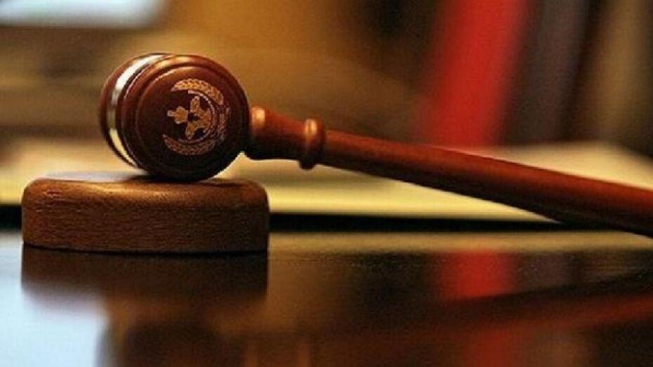 В Лисках каширец получил условный срок за кражу насоса