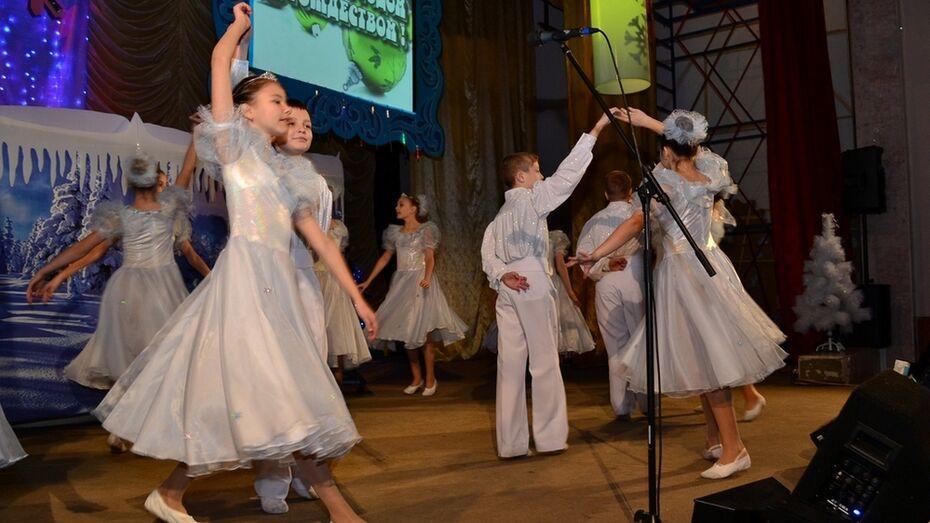 Грибановские дети получили подарки от предпринимателей