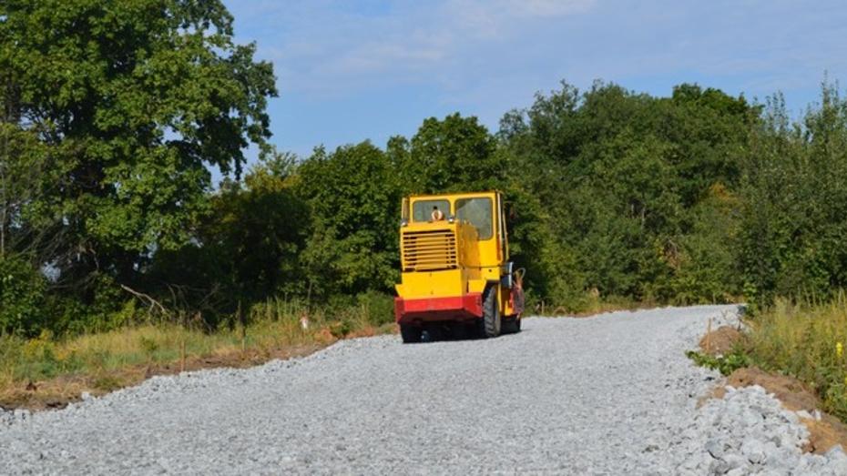 Два рамонских села соединит асфальтированная дорога
