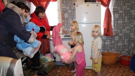 Петропавловские журналисты завершили новогоднюю акцию «Семья поможет семье»