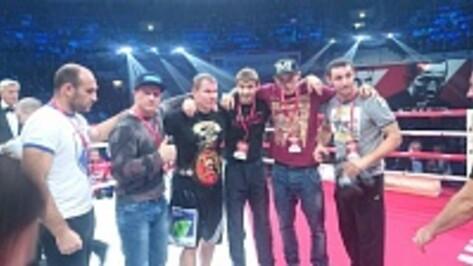 Хохольский боксер Андрей Князев стал чемпионом по версии WBO Oriental.