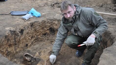 Археологи нашли древние курганы на месте строительства дороги в Воронежской области