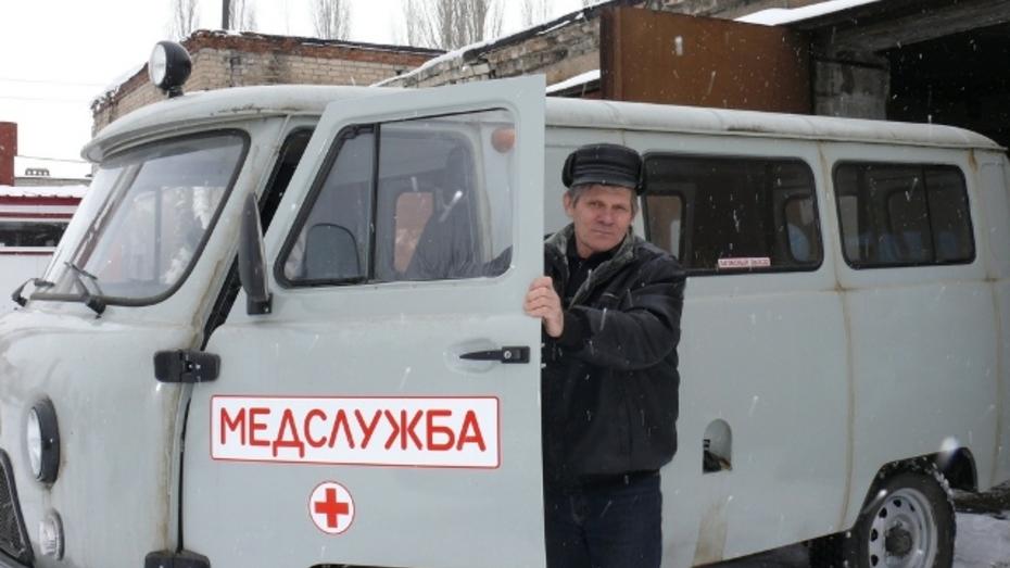 Грибановская ЦРБ получила новые автомобили «скорой помощи»