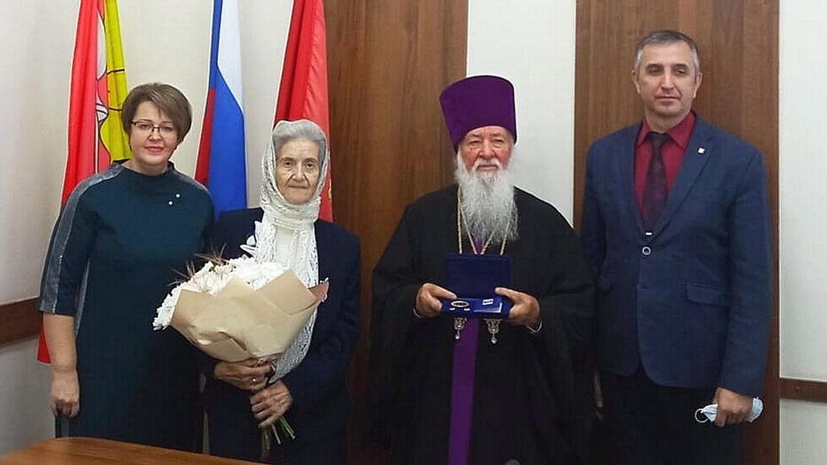 Священник из Воронежской области и его супруга отметили «бриллиантовый» юбилей свадьбы