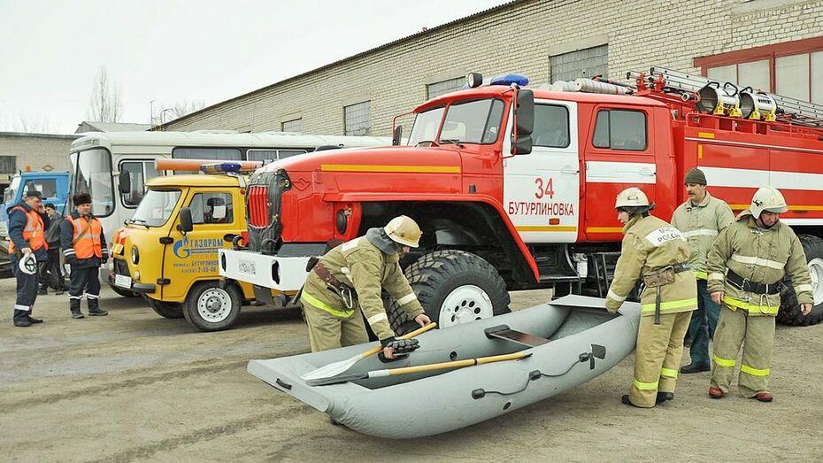Бутурлиновские спасатели провели смотр техники перед началом паводкового сезона