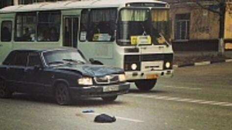 В Воронеже на Ленинском проспекте «Волга» сбила женщину