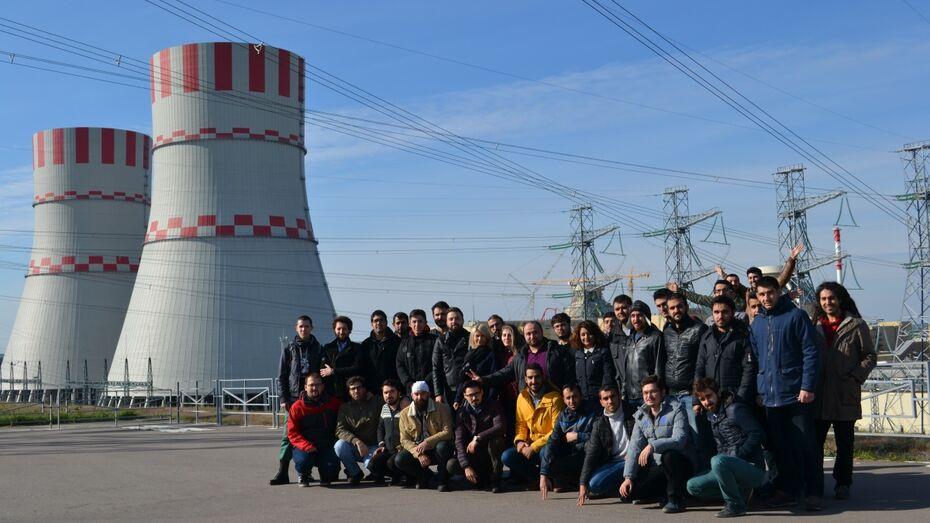Турецкие студенты прошли практику на Нововоронежской АЭС