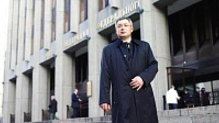 СКР нашел растрату в действиях экс-сенатора от Воронежской области Глеба Фетисова