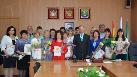 В Поворинском районе отметили День учителя