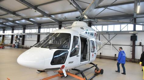 В Воронежский Центр медицины катастроф поступил на службу новый вертолет