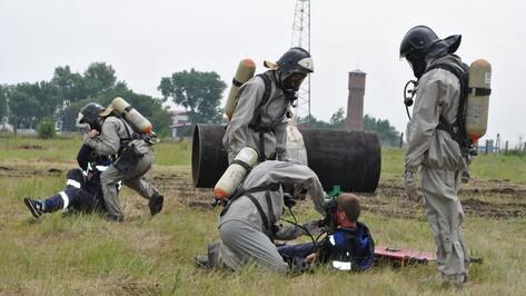 В Семилуках газовики и спасатели устранили «аварию» во время учений