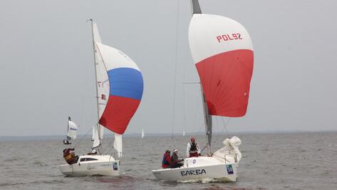 Воронежские яхтсмены стали седьмыми на чемпионате мира по парусному спорту