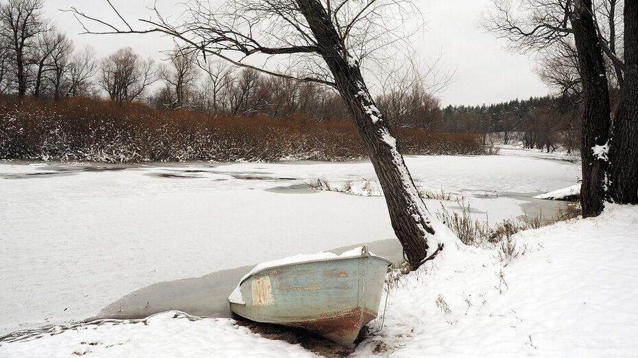Участок реки Дон перекрыли в Воронежской области до апреля