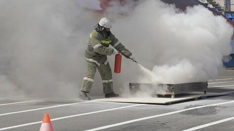 Нижнедевицкий и Кантемировский районы вошли в тройку лучших в смотре-конкурсе пожарных команд