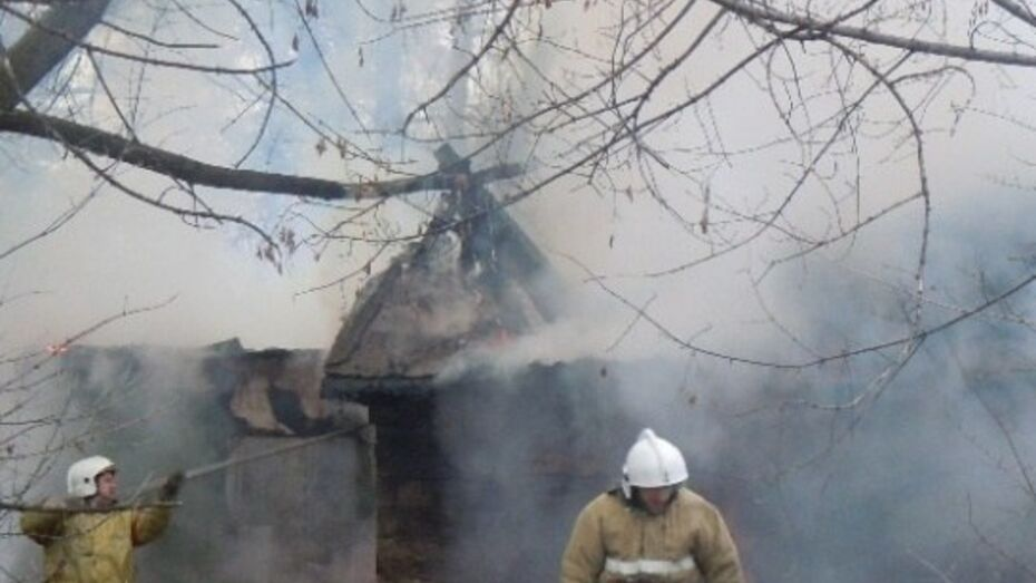 В Воронежской области ночью сгорела крыша библиотеки