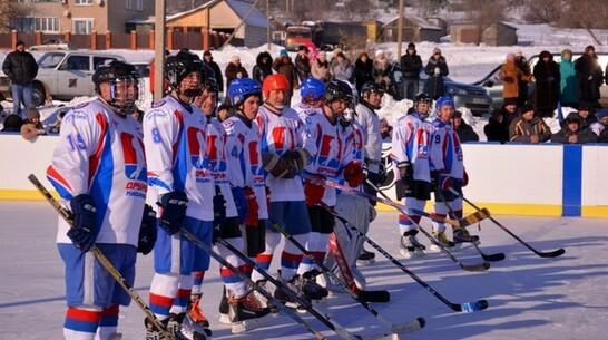 В Кантемировке создали любительскую хоккейную лигу