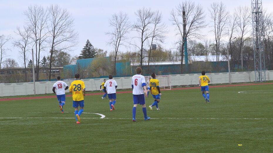 Рамонские футболисты победили в четвертьфинале Кубка области