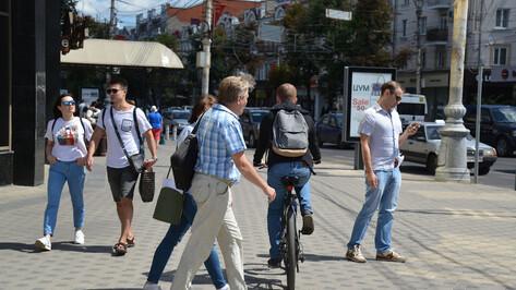 Нет взаимоуважения. Кто прав в конфликте пешеходов, велосипедистов и автомобилистов в Воронеже